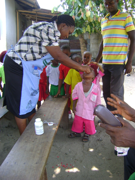 With support from Timmy Global Health, we started a pilot health project for 100 of the poorest students at our school in Bodo featuring regular doctor and nurse visits during the 2012-2013 academic year.  Students are shown here in March 2013 receiving immunizations as part of this program in March 2013.